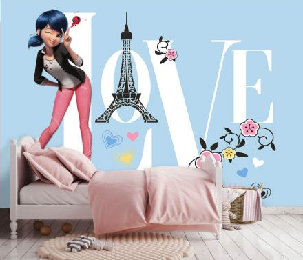 Miraculous paper photo wallpaper Marinette